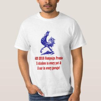 Camiseta de 'lema 28 campañas un pollo en cada remeras