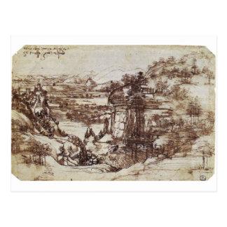 Camiseta de Leonardo da Vinci Tarjetas Postales