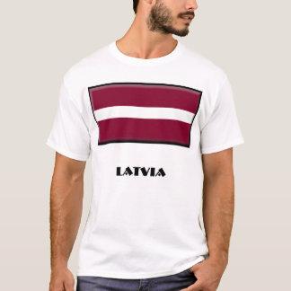 Camiseta de Letonia