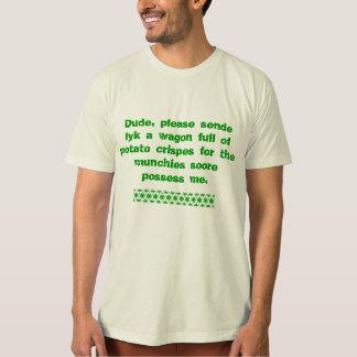 Camiseta de Letteres de la deshuesadora Playera