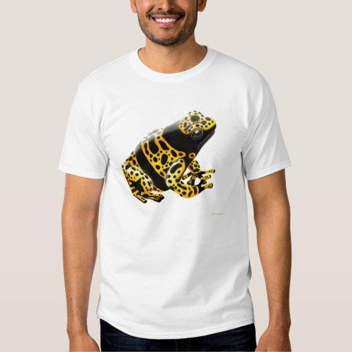 Camiseta de Leucomelas de la rana del dardo del Polera
