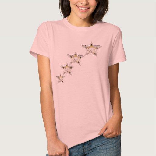 camiseta de levantamiento de la estrella 2 playera