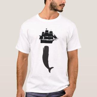 Camiseta de levantamiento de Moby Dick