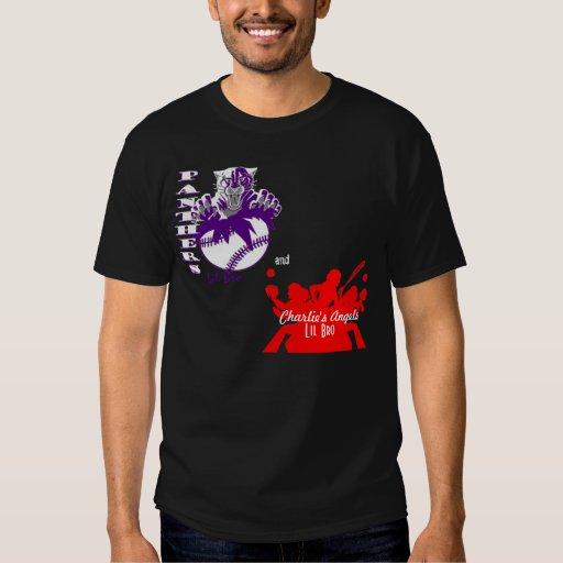 Camiseta de Lil Bro de las panteras del béisbol de Remera