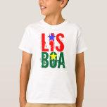 Camiseta de LISBOA (LISBOA) Tagless ComfortSoft® Playera