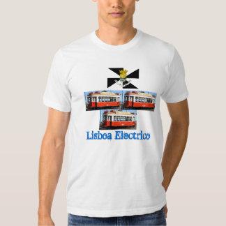 Camiseta de Lisboa* Portugal Carro Electrico Playeras