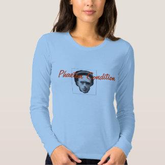Camiseta de Lockhart de las mujeres largas de la Playeras