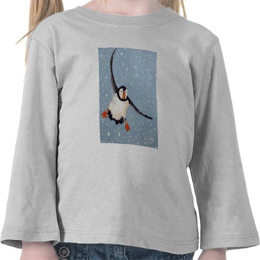"""Camiseta de Longsleeve """"de un niño del frailecillo"""