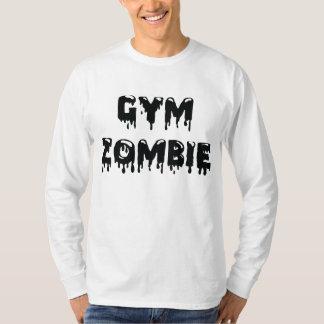 Camiseta de Longsleeve del zombi del gimnasio Remera