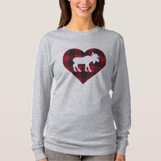 Camiseta de los alces del arbolado