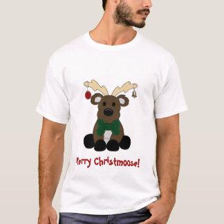 """""""Camiseta de los alces del navidad"""" Playera"""