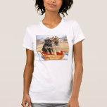 camiseta de los Alemán-Pastor-perritos