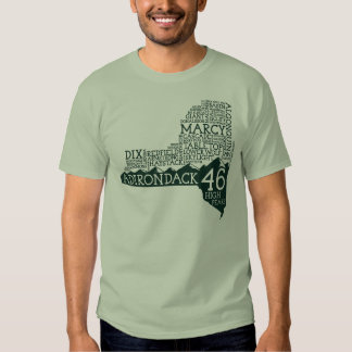 Camiseta de los altos picos de Adirondack Camisas