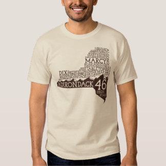Camiseta de los altos picos de Adirondack Remera