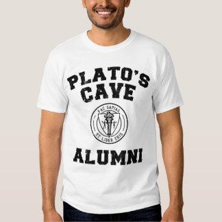 Camiseta de los alumnos de la cueva de Platón Playeras