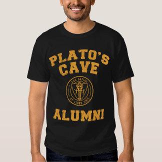 Camiseta de los alumnos de la cueva de Platón Poleras