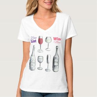 Camiseta de los amantes del vino