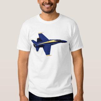 Camiseta de los ángeles azules F-15 de los Poleras
