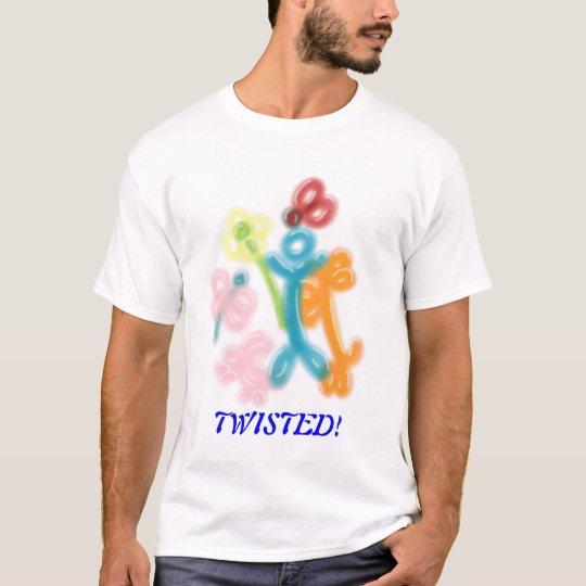 Camiseta de los animales del globo