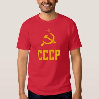 Camiseta de los años 80 de CCCP URSS Unión Camisas