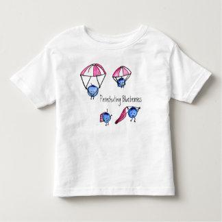 Camiseta de los arándanos que se lanza en
