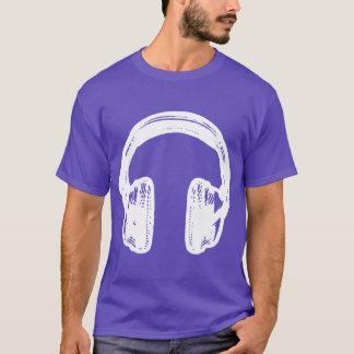 Camiseta de los auriculares de NOISEtrends