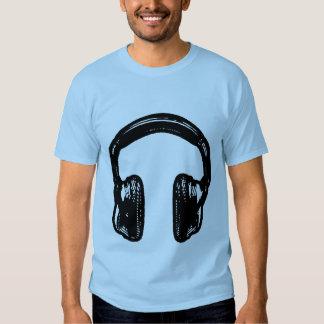 Camiseta de los auriculares de NOISEtrends Playera