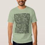 Camiseta de los baterías del jazz camisas