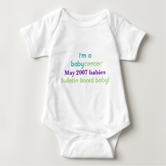 Camiseta de los bebés de la BBC 0507 del Remera
