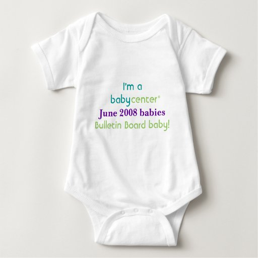 Camiseta de los bebés de la BBC 0608 del Polera