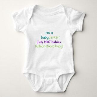 Camiseta de los bebés de la BBC 0707 del Mameluco De Bebé