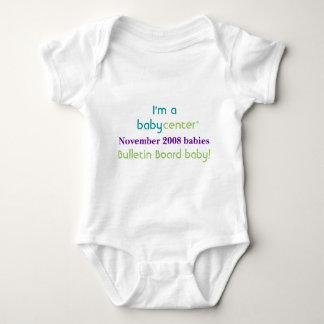 Camiseta de los bebés de la BBC 1108 del Playera
