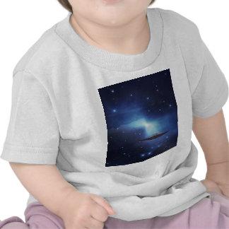 Camiseta de los bebés del UFO