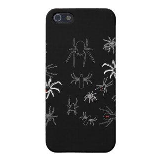 Camiseta de los bichos de las arañas iPhone 5 carcasas