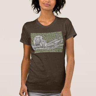 Camiseta de los búhos 10 playera