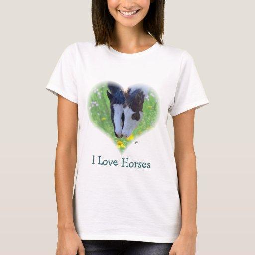 Camiseta de los caballos del amor