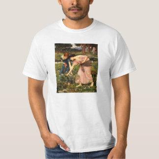 Camiseta de los capullos de rosa de YE del frunce Playeras