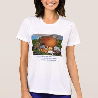 Camiseta de los chicas de la arca de Noahs Playera
