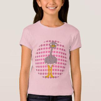 Camiseta de los chicas de la avestruz