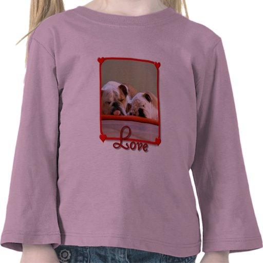 Camiseta de los chicas de los dogos del amor