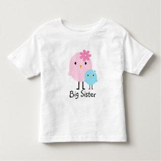 Camiseta de los chicas de los pájaros de la polera