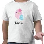 Camiseta de los chicas de los pájaros de la primav