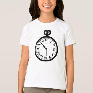 Camiseta de los chicas del reloj de bolsillo