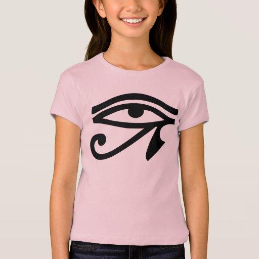 Camiseta de los chicas del símbolo del ojo de