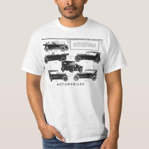 Camiseta de los coches antiguos