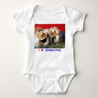 Camiseta de los conejillos de Indias del amor del