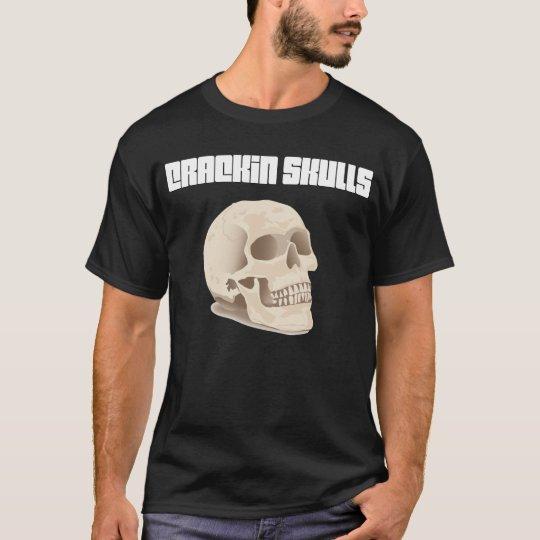 Camiseta de los cráneos de Crackin