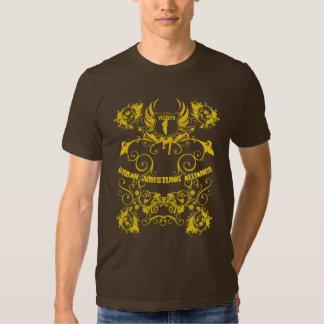 Camiseta de los cráneos del buitre poleras