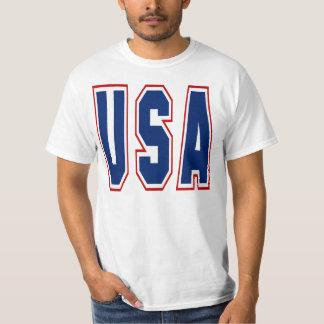 Camiseta de los deportes de los E.E.U.U. Remera