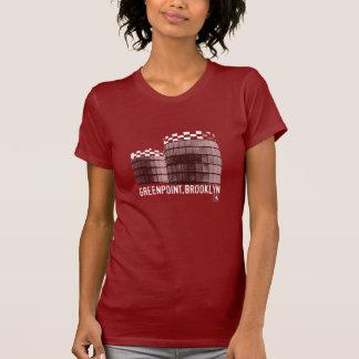 Camiseta de los depósitos de gas de Greenpoint de Polera